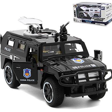 1:32 Παιχνίδια αυτοκίνητα Οχήματα Αστυνομικό αυτοκίνητο Απίθανο Βιόλα Κράμα αλουμινίου Όλα 1 pcs