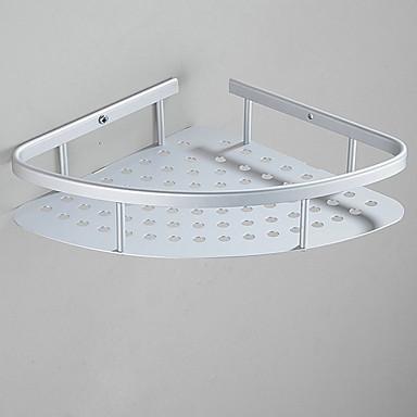 Prateleira de Banheiro Novo Design Modern Aço Inoxidável 1pç - Banheiro Solteiro (L150 cm x C200 cm) Montagem de Parede