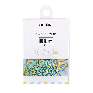 Μεταλλικό Τυχαίο Χρώμα 1pc Σελιδοδείκτες & Συνδετήρες 2.7*3.2 cm