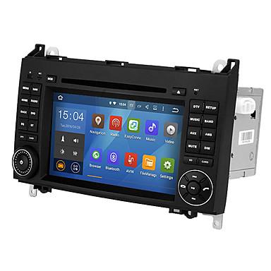 voordelige Automatisch Electronica-WSD2025 7 inch Android 8.0 Quad-Core CPU 2 DIN Auto DVD speler touchscreen voor Mercedes-Benz B200