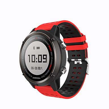 Xiaomi Gudon s1 Homens mulheres Relógio inteligente Android iOS Bluetooth satélite Monitor de Batimento Cardíaco Esportivo Calorias Queimadas Suspensão Longa ECG + PPG Cronómetro Podômetro Aviso de