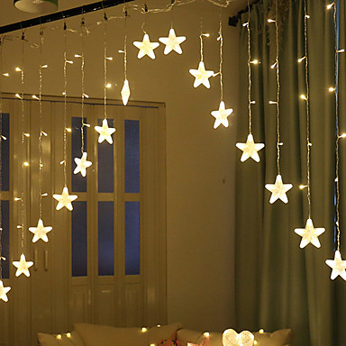 40 59 Brelong 8 Patterns Led Star Lights String Indoor Curtain Outdoor Waterproof Holiday