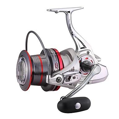 Molinetes de Pesca Molinetes Rotativos 4.0:1 Relação de Engrenagem+15 Rolamentos Orientação da mão Trocável Pesca de Mar / Rotação