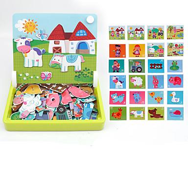 44 pcs Magnetleksaker Byggklossar Superstarka neodymmagneter Neodymmagnet Puzzle Cube Gummi Barn / Vuxna Pojkar Flickor Leksaker Present