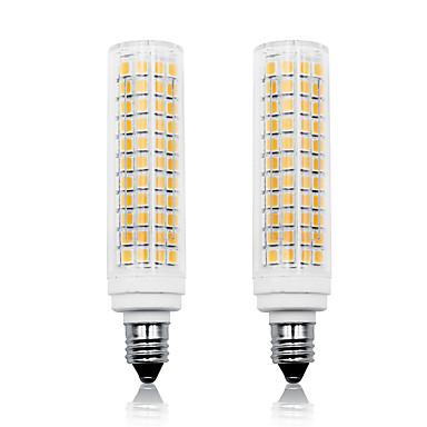 Loende 2 pcs 11 w led milho luzes 750 lm e11 t 136 led contas smd 2835 dimmable branco quente branco 110-130 v 200-240 v