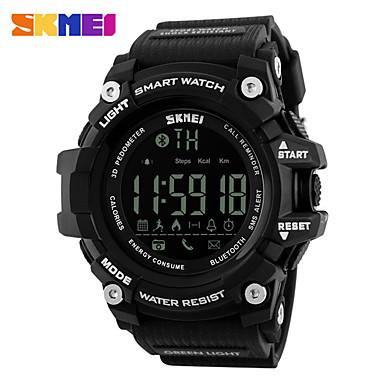 levne Pánské-SKMEI Inteligentní hodinky Digitální Moderní styl Sportovní Silikon 30 m Voděodolné Hodinky na běžné nošení Cool Digitální Na běžné nošení Módní - Černá Černá / Modrá Černá / Zlatá