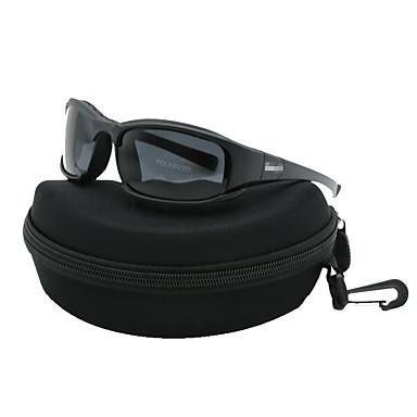 billige Motorsykkel & ATV tilbehør-bærbare polariserte briller solbriller 3 linser jakt skyting sykling motorsykkel briller ramme fargepolariserte versjonen