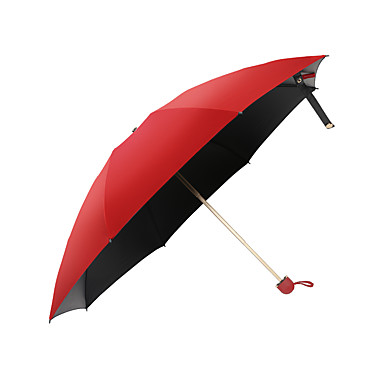 preiswerte Regenschirme-Regen Lächeln Schwester Nano Nano wasserfreien Regenschirm schwarzem Gummi Sonnencreme UV-Schutz Regenschirm männlichen und weiblichen Schatten Regen Musik Qingyu Dual-Use-Super entdecken dreifachen