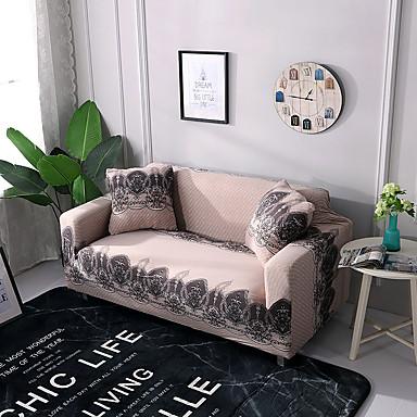vento de capa de sofá em torno de slipcovers impressos de poliéster