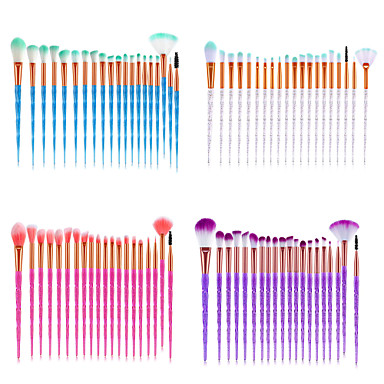 cheap Makeup Brush Sets-Professional Makeup Brushes 20pcs Soft Full Coverage Lovely Comfy Plastic for Makeup Set Makeup Tools Makeup Brushes Eyeliner Brush Foundation Brush Makeup Brush Lip Brush Lash Brush