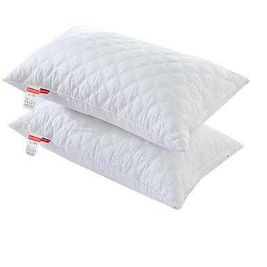 descanso de cama confortável-superior da qualidade anti-dustmite / poliéster do poliéster travesseiro do estiramento