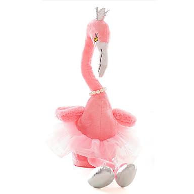 voordelige Knuffels & Pluche dieren-SKMEI Muziek Vogel Knuffeldieren Sprekend gezang Dansen Aanbiddelijk Dans strakke Romantisch Coral Velve Allemaal Speeltjes Geschenk 1 pcs