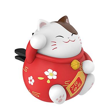 levne Závěsy a ozdoby do auta-štěstí, kočky auto zásuvky aromaterapie kreativní auto parfém kreslená panenka kromě zápachu ozdoby ozdoby