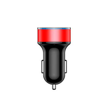 levne Auto Elektronika-duální usb rychlé nabíjení auto nabíječka displej napětí aktuální auto mobilní telefon nabíječka modeled
