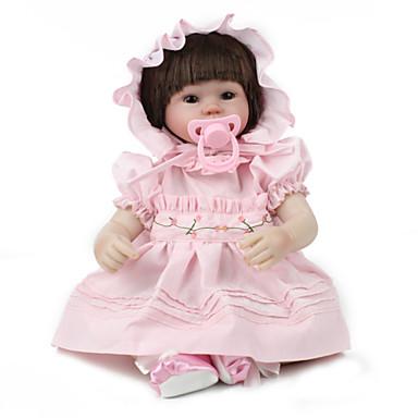 preiswerte Puppen-NPK DOLL Lebensechte Puppe Wiedergeborene Kleinkind-Puppe Baby Mädchen 20 Zoll Sicherheit Geschenk Niedlich Kinder Unisex Spielzeuge Geschenk
