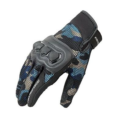 1 par de luvas da motocicleta cavaleiro diário equitação proteção luvas de tela de toque pilotos luva respirável