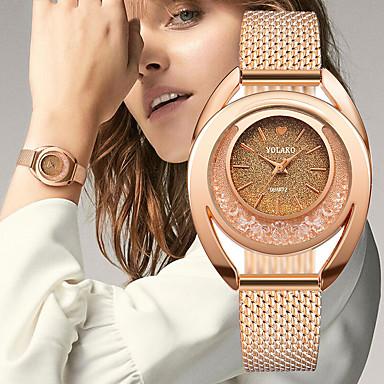 levne Pánské-yolako ženy plastové hodinky nepravidelný ciferník módní osobnostní hodinky