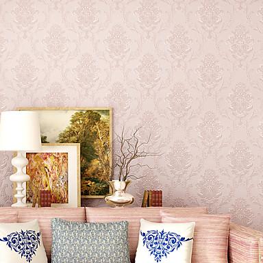 cheap Wall Art-Flower Pattern PVC Self-adhesive Wallpaper Floral / Botanical / Art Deco