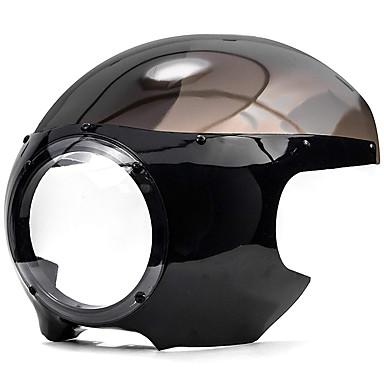 billige Motorsykkel & ATV tilbehør-til harley dyna sportster 883 1200 svart 5 3/4 racerlyktlys