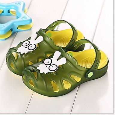 cheap Kids' Slippers-Boys' Comfort EVA(ethylene-vinyl acetate copolymer) Slippers & Flip-Flops Little Kids(4-7ys) Purple / Fuchsia / Green Summer
