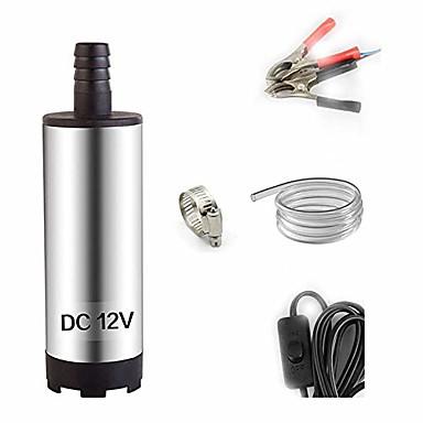 hesapli Oto Parçaları-Dc 12 v elektrikli dalgıç pompa su geçirmez yağ için paslanmaz çelik dalgıç pompa voltaj12v