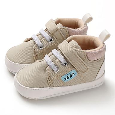 preiswerte Schuhe für Kinder-Jungen Lauflern Leinwand Sneakers Kleinkinder (0-9 m) / Kleinkind (9m-4ys) Kaffee / Blau / Mandelfarben Herbst / Winter