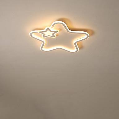 Linear Apliques de Tecto Luz Ambiente Acabamentos Pintados Metal Criativo, LED 110-120V / 220-240V Branco Quente / Branco Frio