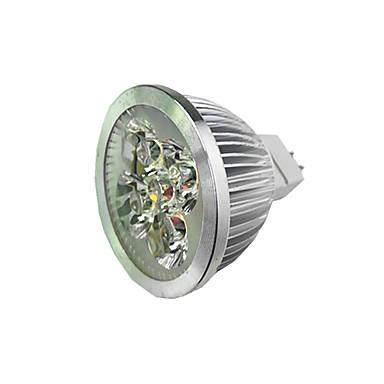 1pç 4 W Lâmpadas de Foco de LED 300 lm MR16 4 Contas LED LED de Alta Potência Branco Quente