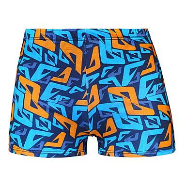 Homens Shorts de Natação Calção Justo de Natação Calças Natação Esportes Aquáticos Pintura Verão / Micro-Elástica