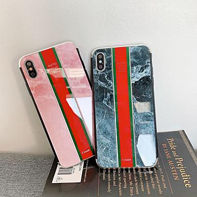 preiswerte Angebote der Woche-Hülle Für Apple iPhone XS / iPhone XR / iPhone XS Max Stoßresistent / Staubdicht / Muster Rückseite Marmor PC