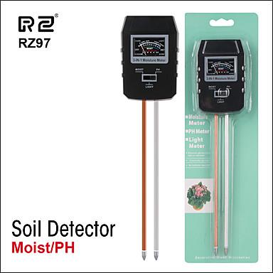Rz97 mini solo pH ph umidade medidor de umidade ph medidor de monitor de umidade do solo higrômetro planta de jardinagem agricultura testador de umidade