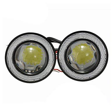 2pcs Motocicleta / Carro Lâmpadas 30 W LED Luz Anti Neblina Para Universal Todos os Modelos Todos os Anos