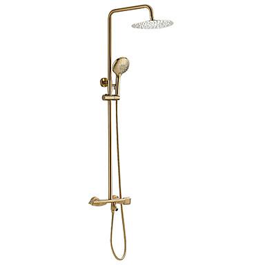 Torneira de Chuveiro / Torneira pia do banheiro - Moderna Multi Camadas Outros Válvula Cerâmica Bath Shower Mixer Taps