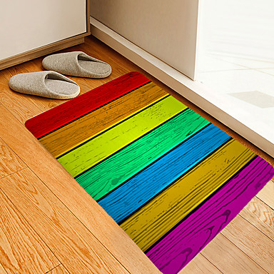 1pç Modern Tapetes Anti-Derrapantes / Tepetes de Banheiro Coral Velve Geométrica / Abstrato 5mm Banheiro Novo Design