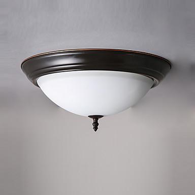 Luz de teto montagem embutida luzes de vidro antigo downlight pintado acabamentos luminárias de teto para sala de estar sala de jantar