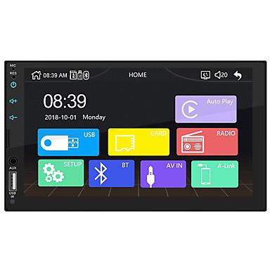 levne Auto Elektronika-swm-x2 7 palcová okna ce auto mp5 přehrávač hd dotykový displej auto stereo rádio usb odkaz pro Apple Carplay