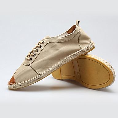 Homens Sapatos Confortáveis Sintéticos Outono Tênis Amarelo / Azul