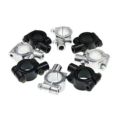 povoljno Motori i quadovi-Držač nosača držača 10mm univerzalnog aluminijumskog držača ogledala držač adaptera stezaljka