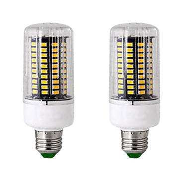 2pcs 13 W Lâmpadas Espiga 300 lm E14 GU10 B22 T 120 Contas LED SMD 5736 Novo Design Branco Quente Branco 85-265 V