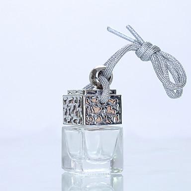 billige Anheng og dekor til bilen-6 ml parfymeflaske for bilfriskere parfyme anheng parfyme parfyme (tom flaske uten eterisk olje)