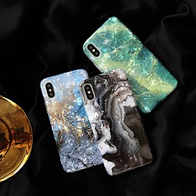 povoljno iPhone maske-futrola za Apple iphone xs / iphone xr / iphone xs max otpornost na udarce / imd / uzorak stražnji poklopac mramorni tpu za iphone6 / 6s plus iphone7 / 8 plus iphonex / xs max / xr