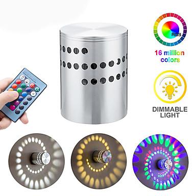 zidna svjetiljka LED led spiralni efekt svjetlo spiralna rupa vodila moderne zidne svjetiljke za kućnu igru bar bar ktv ukras