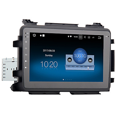voordelige Automatisch Electronica-8 inch 1 din android 8.0 4gb 32gb car gps navigator touch screen car dvd player for honda vezel hr-v hrv 2014-2017