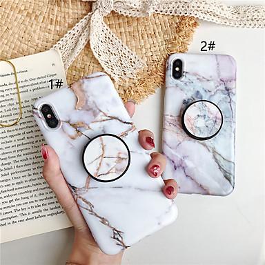 povoljno iPhone maske-futrola za jabuke iphone xs / iphone xr / iphone xs max sa postoljem / uzorkom stražnje korice mramorni tpu za iphone x 8 8plus 7 7plus 6 6s 6plus 6splus