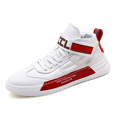 cheap Men's Sneakers-Men's Comfort Shoes Canvas Winter / Fall & Winter Sporty / Casual Sneakers Running Shoes / Fitness & Cross Training Shoes Breathable Red / Blue / Gray / Outdoor / Light Soles