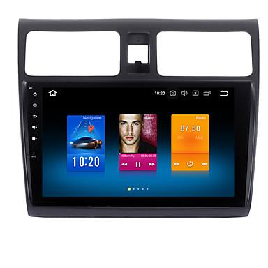 billige Bil Elektronikk-10,2 tommers bil GPS-navigator bil DVD-spiller android 8,0 1 din 4 GB 32 GB for Suzuki Swift 2005-10