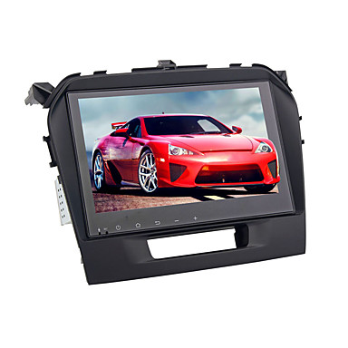billige Bil Elektronikk-9 tommers android 8,0 bil gps navigator berøringsskjerm 1 din bil dvd-spiller 4 gb 32 gb for suzuki vitara 2016