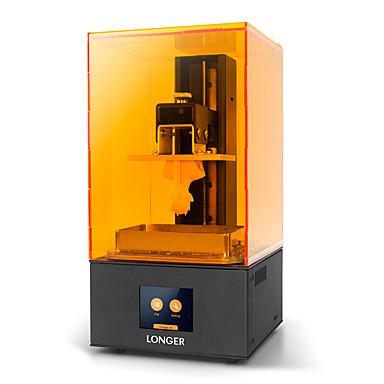 impressora alaranjada da resina uv da impressora 3d alaranjada do lcd 10 mais com o tamanho da configuração tela esperta do toque 98x55x140mm / 2.8 / print off-line