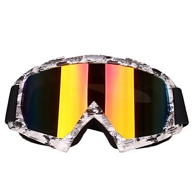 billige Motorsykkel & ATV tilbehør-motorsykkelbriller anti-impact skibriller sykling turbriller utendørs tilbehør ramme fargede og svarte flekker