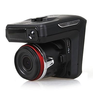 levne Auto Elektronika-HD Auto DVR 140 stupňů Široký úhel CMOS 2.4 inch Dash Cam s Smyčkové nahrávání / Vestavěný mikrofon / Vestavěný reproduktor Záznamník vozu